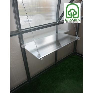 Šiltnamio lentyna 2m ilgio (pakabinama)