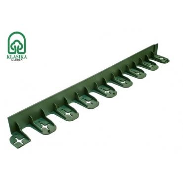 Plastikinis vejos bortas, žalias 80cm.