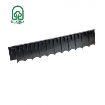 Plastikinis atitvaras (pjūklas), juodas, 62 cm