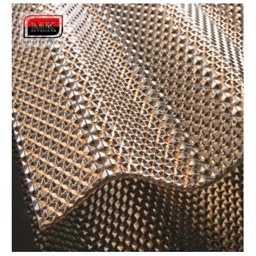 MK PC DIAMONDS monolitinis polikarbonatas, bronza (pagamintas ES)