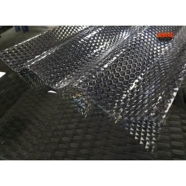 MK PC DIAMONDS monolitinis polikarbonatas, sidabrinis (pagamintas ES)